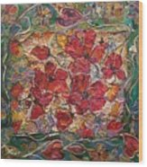 Fleur De Mon Ami Wood Print