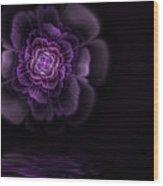 Fleur Wood Print by John Edwards