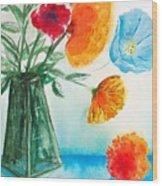 Fleur Primitiv Wood Print