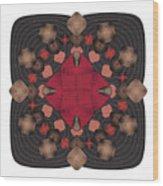 Fleuron Composition No. 157 Wood Print