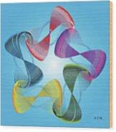 Fleuron Composition No. 178 Wood Print