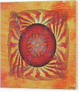 Fleuron Composition No. 204 Wood Print