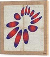 Fleuron Composition No 235 Wood Print