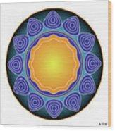 Fleuron Composition No 237 Wood Print