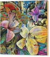 Fleurs De Lys 02 Wood Print