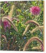 Fleurs Des Champs Wood Print