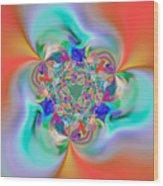 Flexibility 32e Wood Print