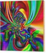 Flexibility 49ba Wood Print