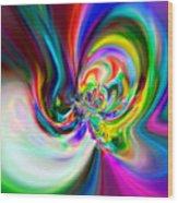Flexibility 51ba Wood Print