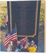 Flight 93 Heros Wood Print