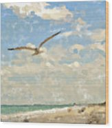 Flight From Canaveral Wood Print