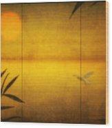 Flight Of A Tern Wood Print