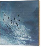Flight Of Dreams Wood Print