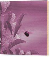 Flight Of Princess Bumble Bee Wood Print