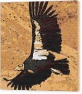 Flight Of The Condor Wood Print