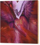 Flight Of The Heart Wood Print
