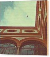 Flight Of The Moors Wood Print