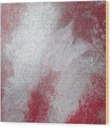 Flight Of The White Bird Wood Print
