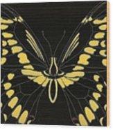 Flight Series 11 Yellow Tail Wood Print