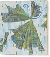 Flights Of Fancy Wood Print