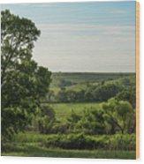 Flint Hills Landscape 784 Wood Print