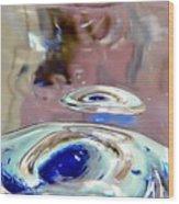 Floating Eyes Wood Print