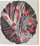 Floating Gingko Wood Print