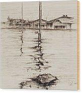 Flood St. Wood Print