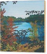 Floodwood Wood Print