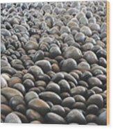 Floor Of Rocks Wood Print