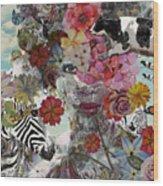 Flora And Fauna Wood Print