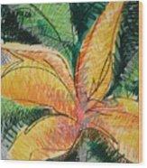Flora Exotica 2 Wood Print