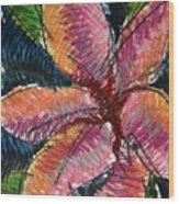 Flora Exotica 3 Wood Print