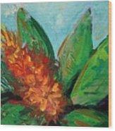 Flora Exotica B Wood Print