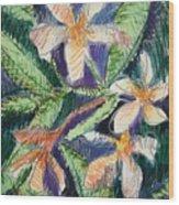 Flora Exotica Wood Print