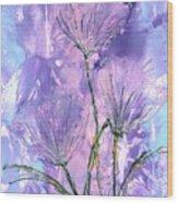 Flora Haze Wood Print
