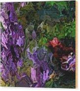 Flora Landscape 081015 Wood Print