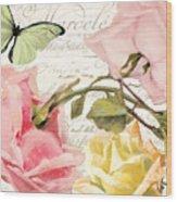 Florabella I Wood Print