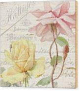 Florabella Iv Wood Print