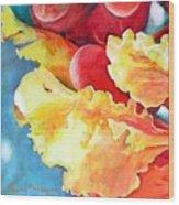 Floraison Wood Print