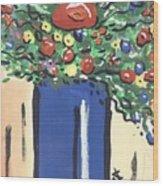 Floral 280 Wood Print