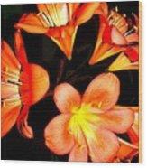 Floral 6019 Wood Print