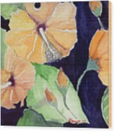 Floral Affair Wood Print