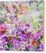 Floral Art Clvi Wood Print
