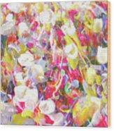 Floral Art Clvii Wood Print