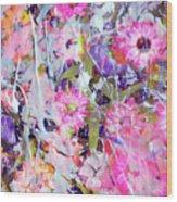 Floral Art Clviii Wood Print