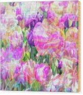 Floral Art Cx Wood Print