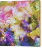 Floral Art Cxii Wood Print