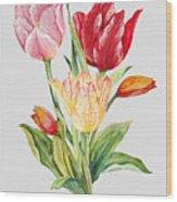 Floral Botanicals-jp3788 Wood Print