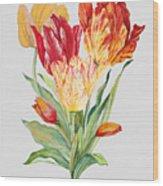 Floral Botanicals-jp3789 Wood Print